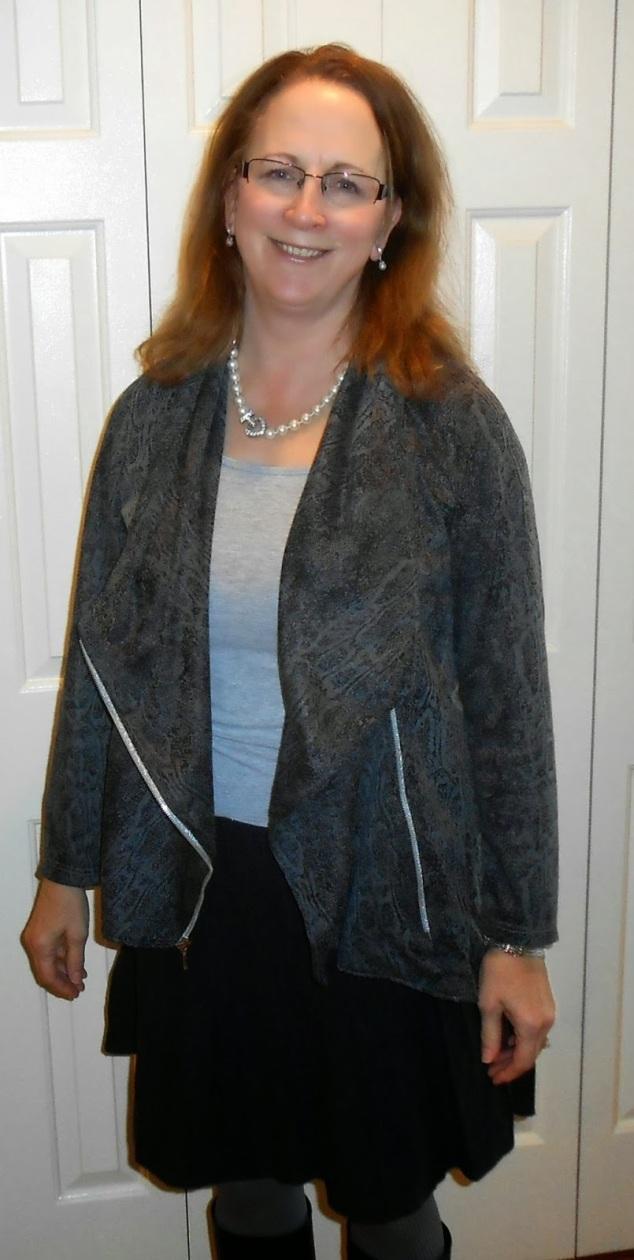 Marie Jacket unzipped
