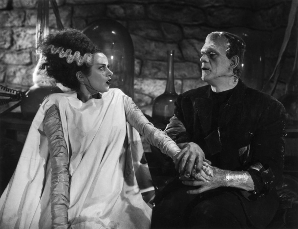 Bride-of-Frankenstein-Monster-and-Bride